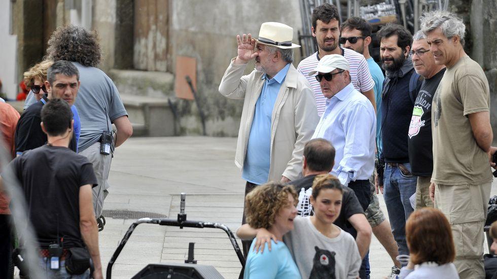 Primer día de rodaje de Almodóvar en Ares