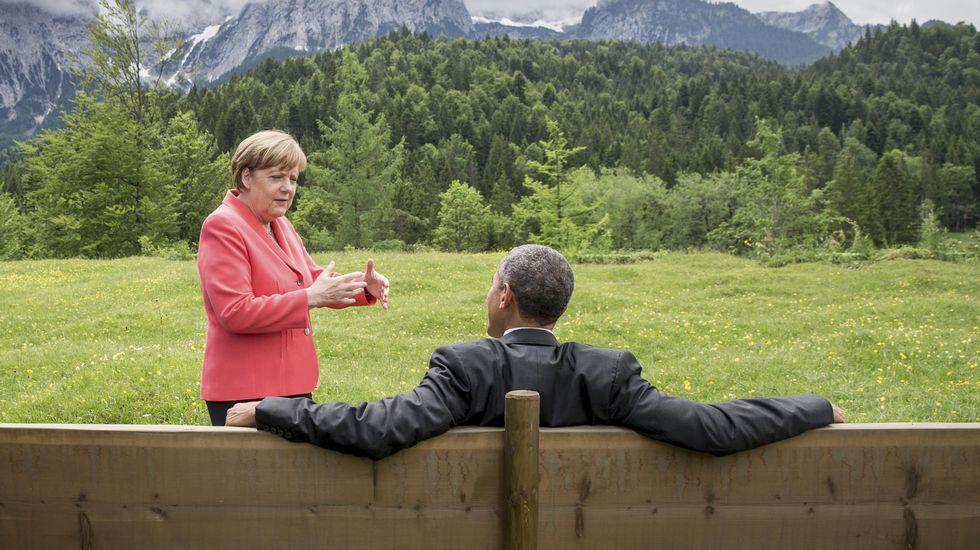 Cumbre del G-7 en el Castillo de Elmau