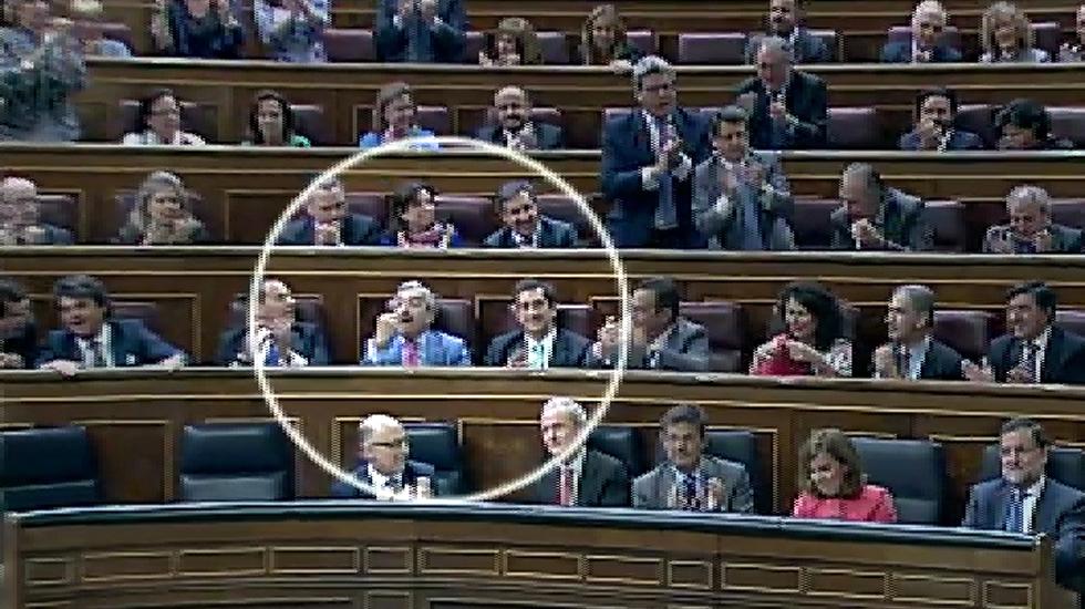 El «cómete esta» de un diputado del PP a Pedro Sánchez