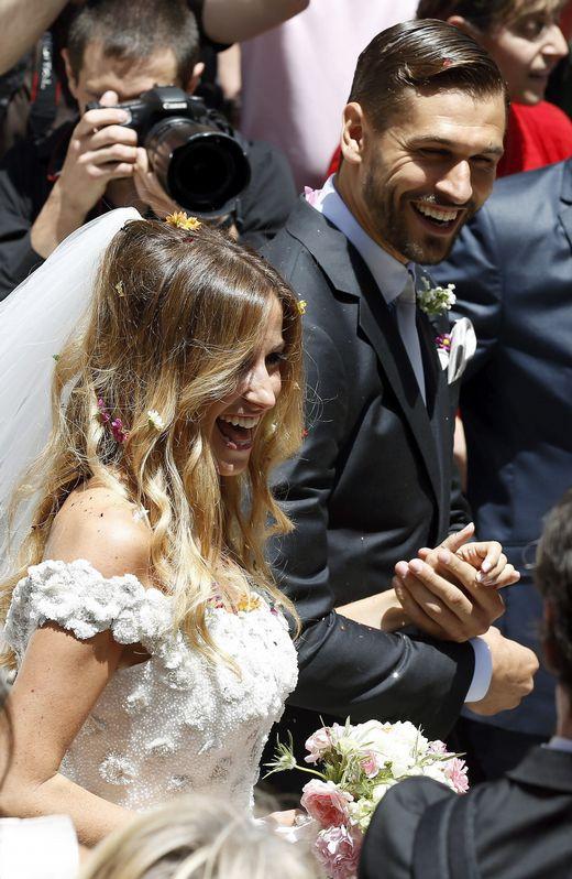 Sobre la llegada de la novia a