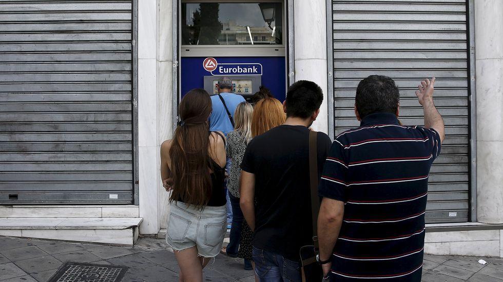 Bancos cerrados en Grecia