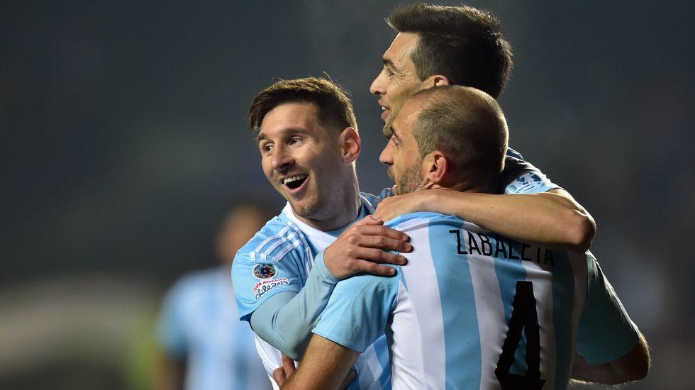 Resumen: Argentina 6 - 1 Paraguay