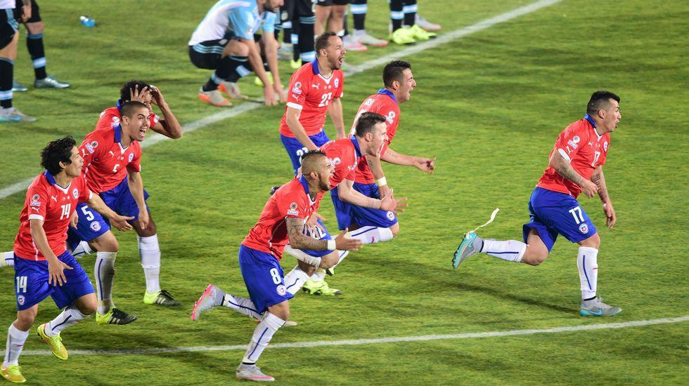 Chile - Argentina, en imágenes