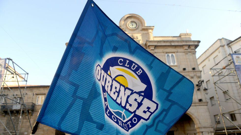 Ourense exige su plaza en ACB