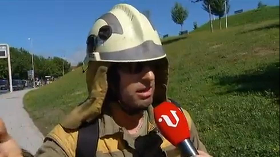 <span lang=&quot;gl&quot;>&laquo;Unha soa brigada atende tres lumes nunha noite&raquo;</span>