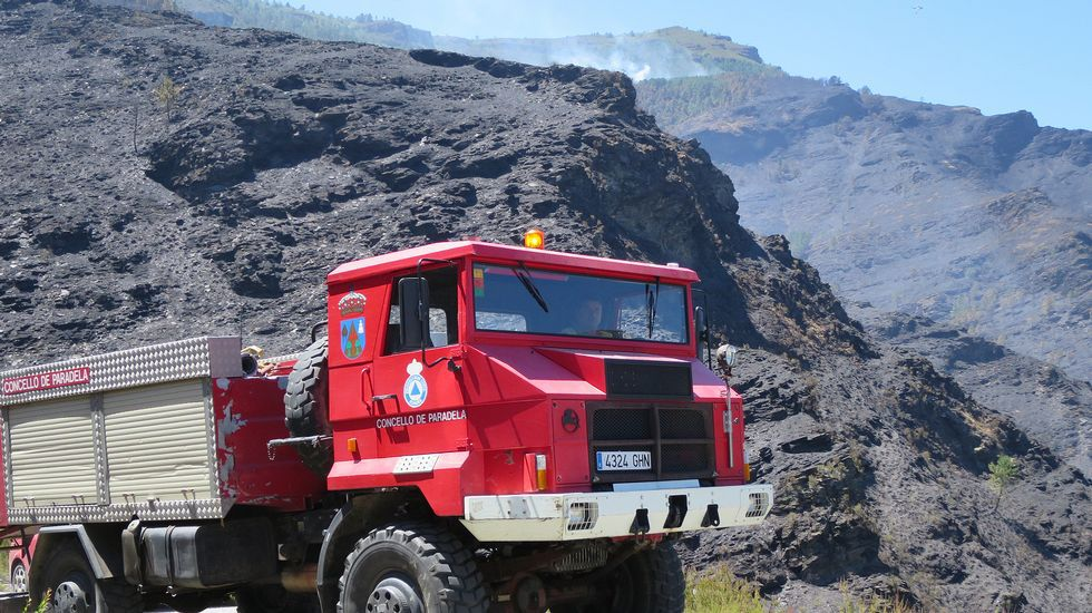 Extinguidos los incendios de Os Ancares, Fonsagrada, Navia y Courel