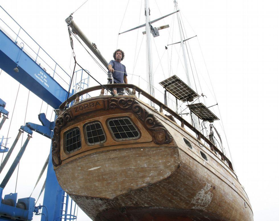 zorba-Repara un velero para dar la vuelta al mundo | sailing Regatas ...