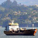 El buque Granato en la r�a de Ferrol