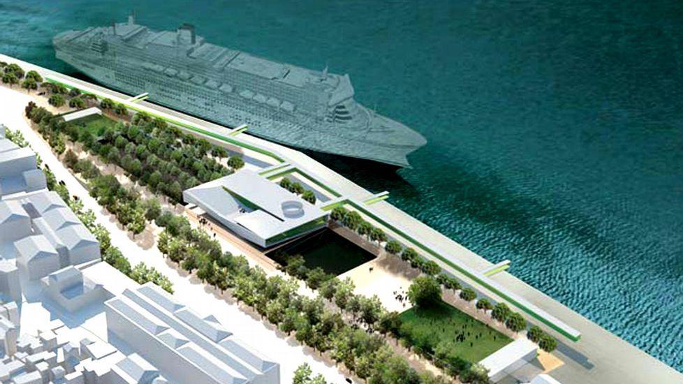 Lisboa da el impulso definitivo a la nueva terminal de - Puerto de vigo cruceros ...