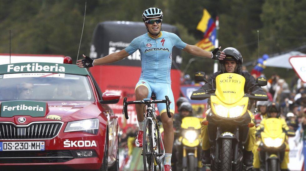 La etapa reina de La Vuelta, en fotos