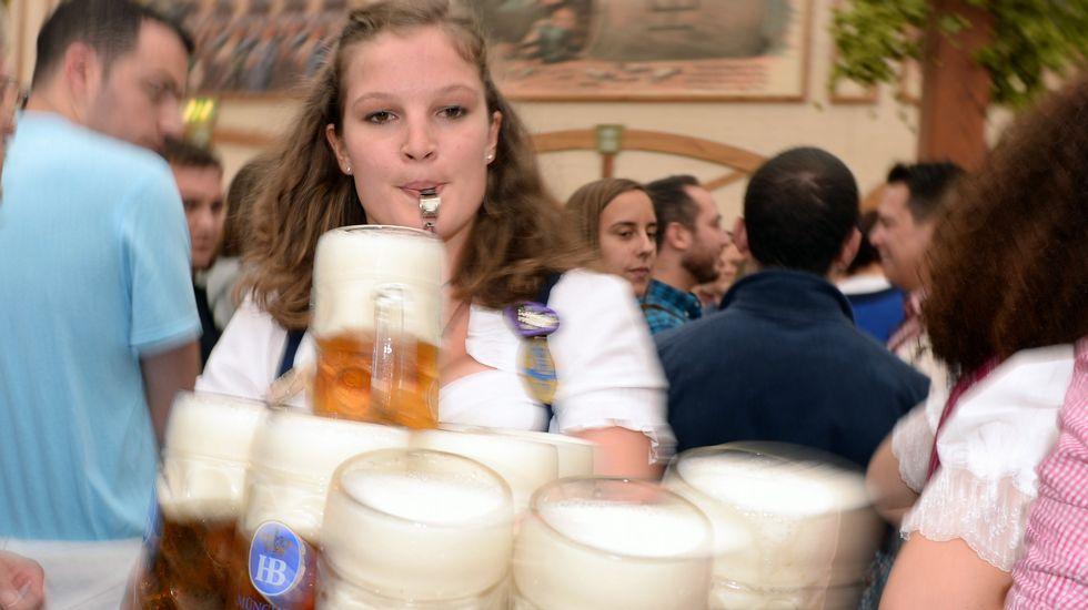 La cerveza reina en Múnich