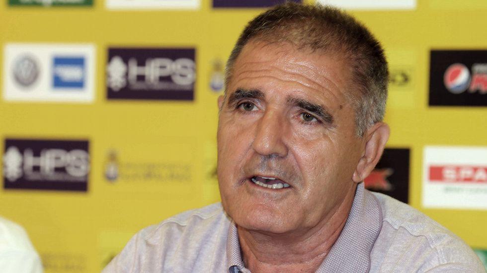 El adiós de Paco Herrera en Las Palmas