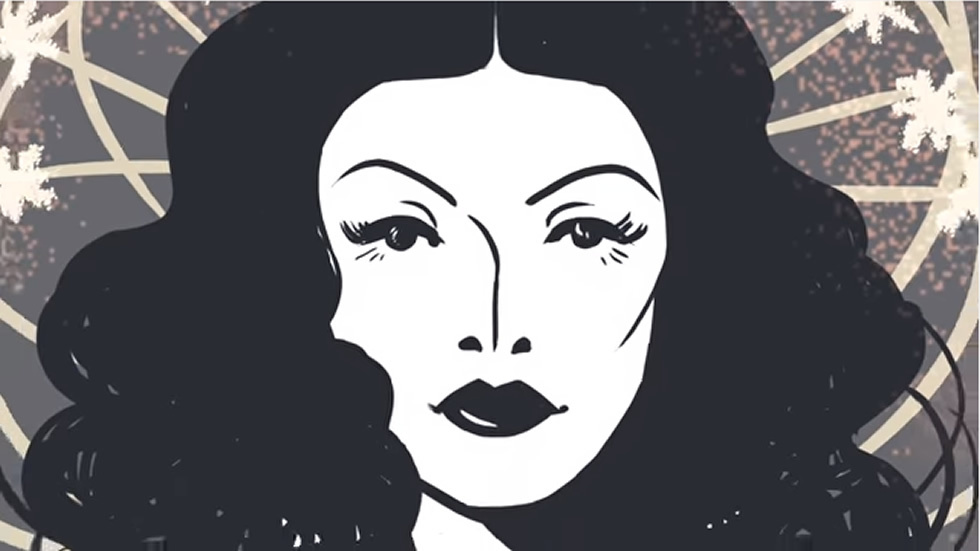 Hedy Lamarr's 101st Birthday Google Doodle