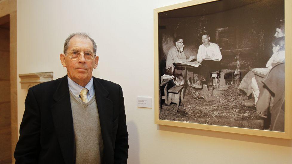 Gustav Henningsen, etnógrafo danés, autor de las fotografías expuestas en el Museo do Pobo Galego.