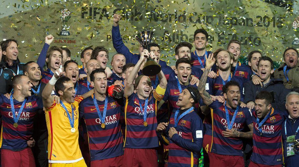 El Barça consigue el repoker