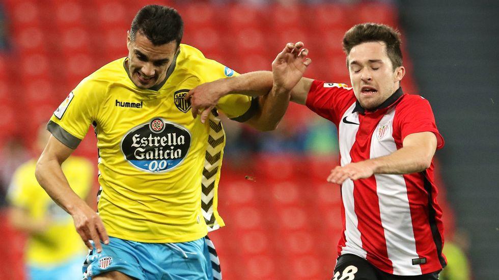 El Bilbao Athletic-Lugo, en fotos