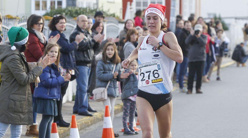 Paula Mayobre fue la más rápida en la prueba entre Mugardos y Ares