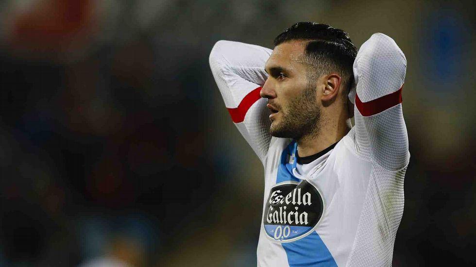 El Getafe-Deportivo, en fotos