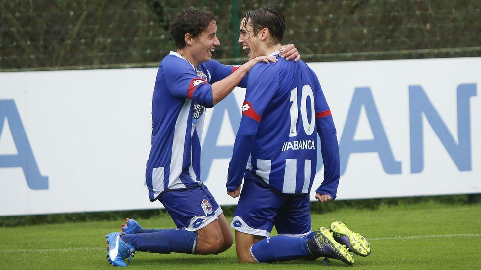 El Deportivo B-As Pontes, en fotos