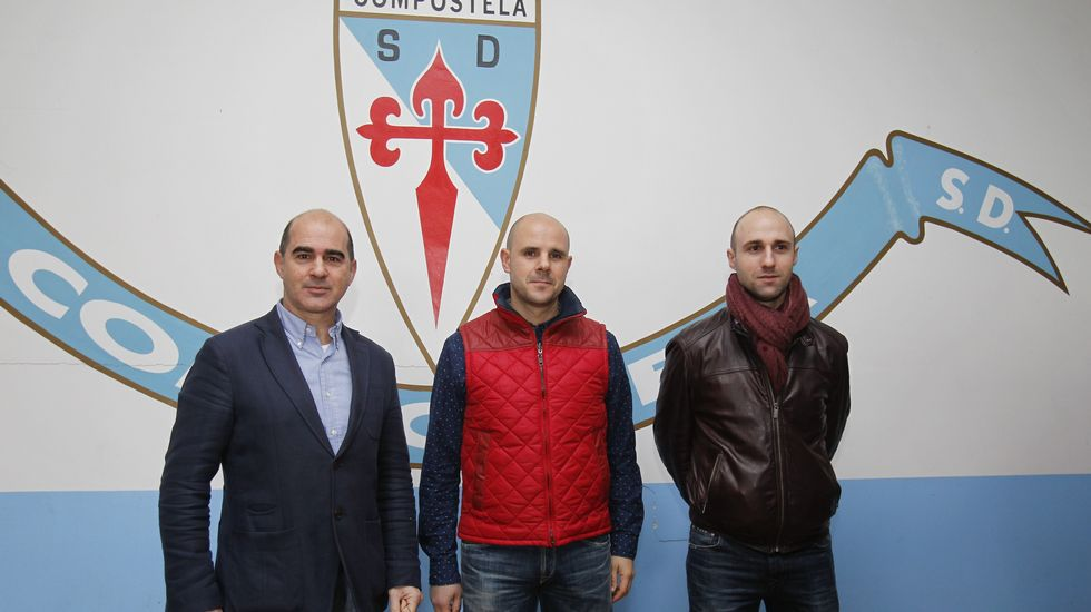 Presentación de Fredi Álvarez como entrenador del Compostela