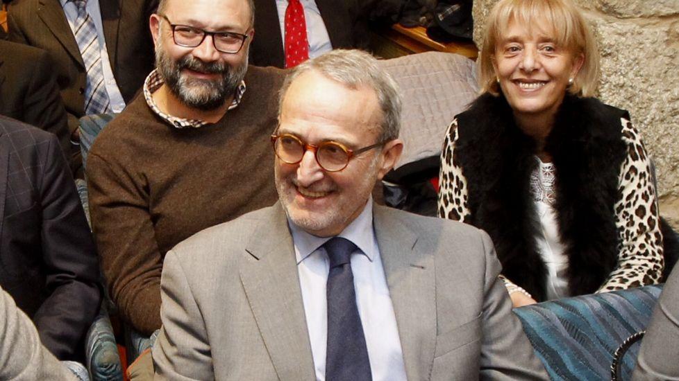 Dieter Moure, en la asamblea