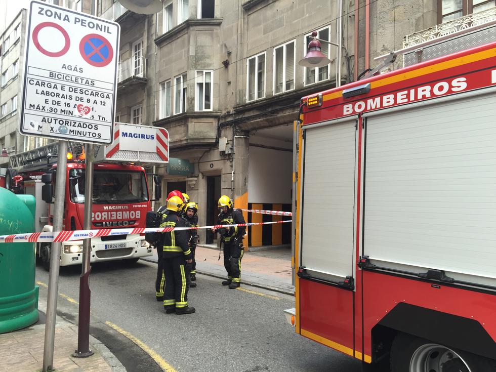 Incendio en una vivienda de Riestra