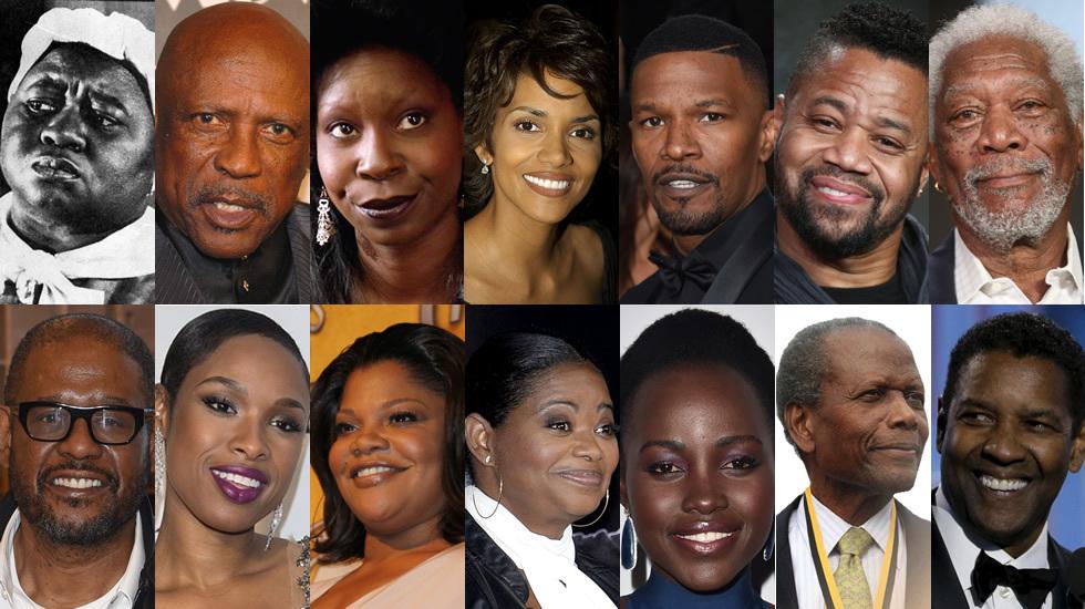 Óscars 2016: Catorce intérpretes negros con estatuilla