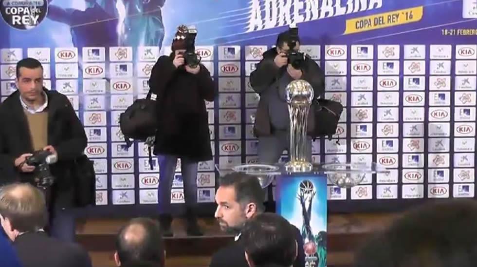 Siga en directo el sorteo de la Copa del Rey de baloncesto
