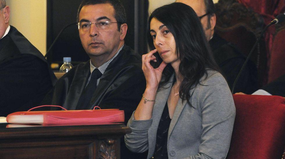 La policía local Raquel Gago