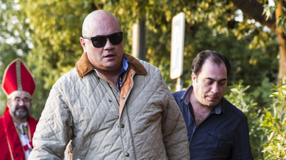 Uno de los testaferros del caso Malaya, Oscar Alberto Benavente, a su entrada a la cárcel de Alhaurín de la Torre