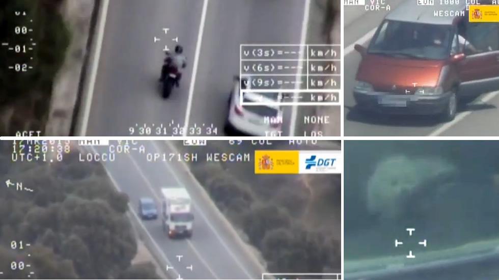 Cafradas al volante en las carreteras españolas
