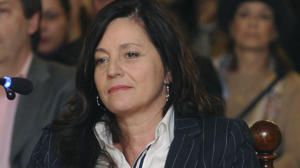 La jefa del Servicio de Atención a Municipios de la Diputación de León y testigo, Ana Cosme