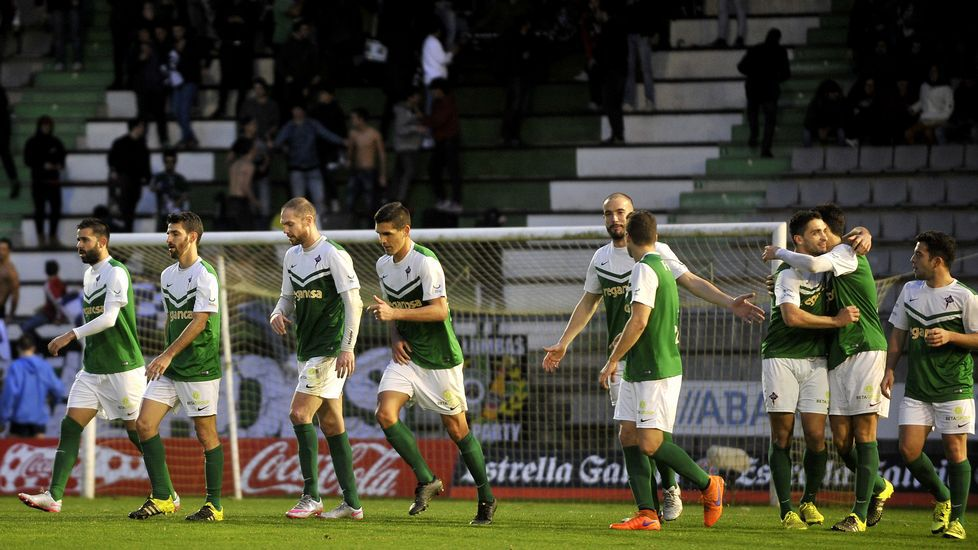 Las mejores imágenes del Racing-Sporting de Gijón B