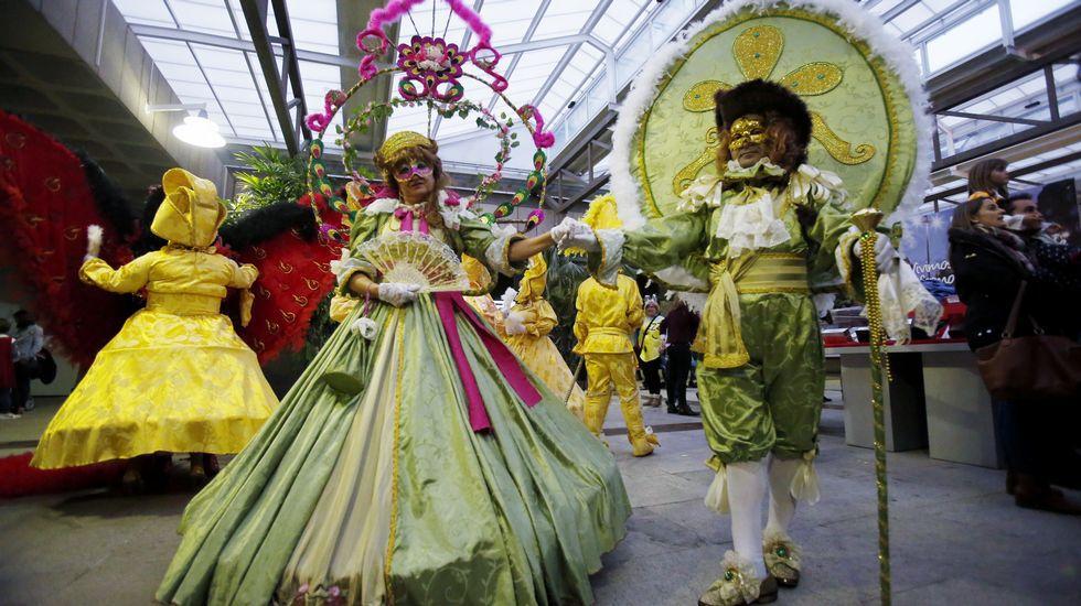 Las mejores imágenes del martes de Carnaval en Galicia