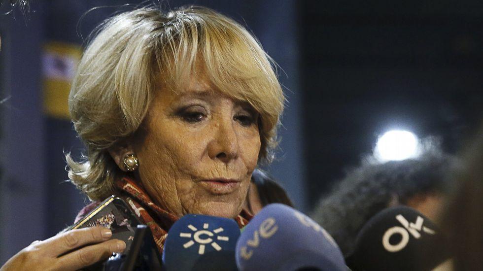 Aguirre: «Yo respeto muchísimo a la policía y les doy toda la documentación que deseen»