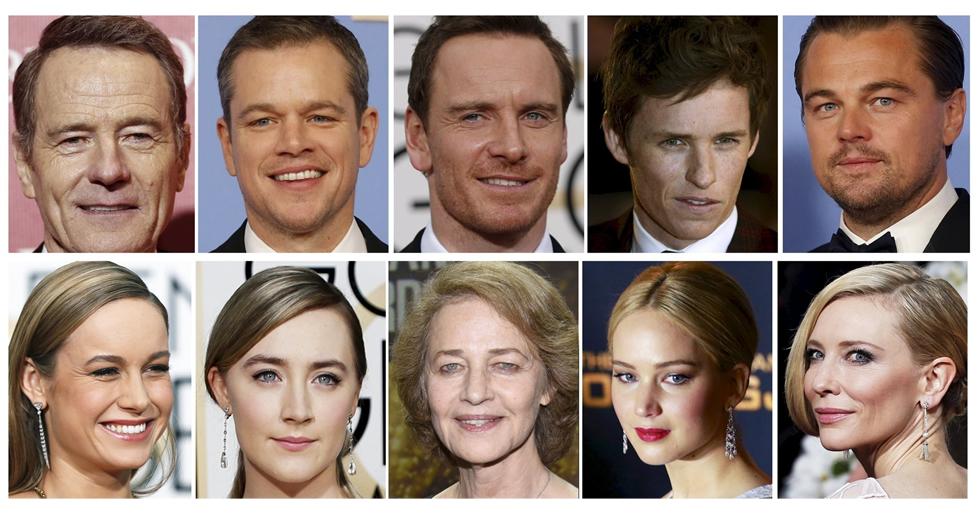Oscars 2016: Los actores y actrices nominados