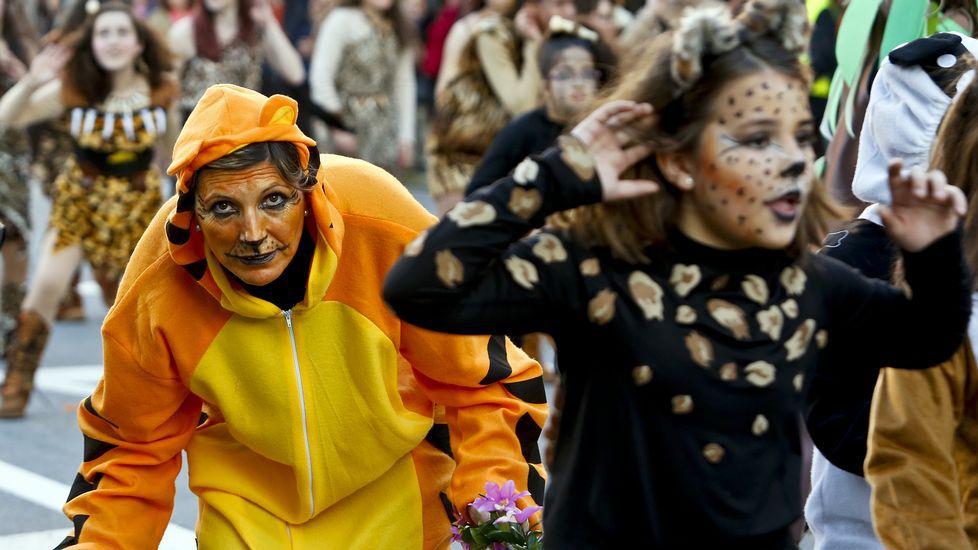 Vigo por fin despide el Carnaval