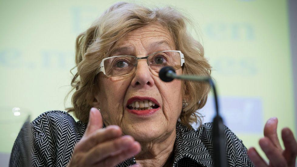Tensión entre Carmena y Aguirre en el Pleno del Ayuntamiento
