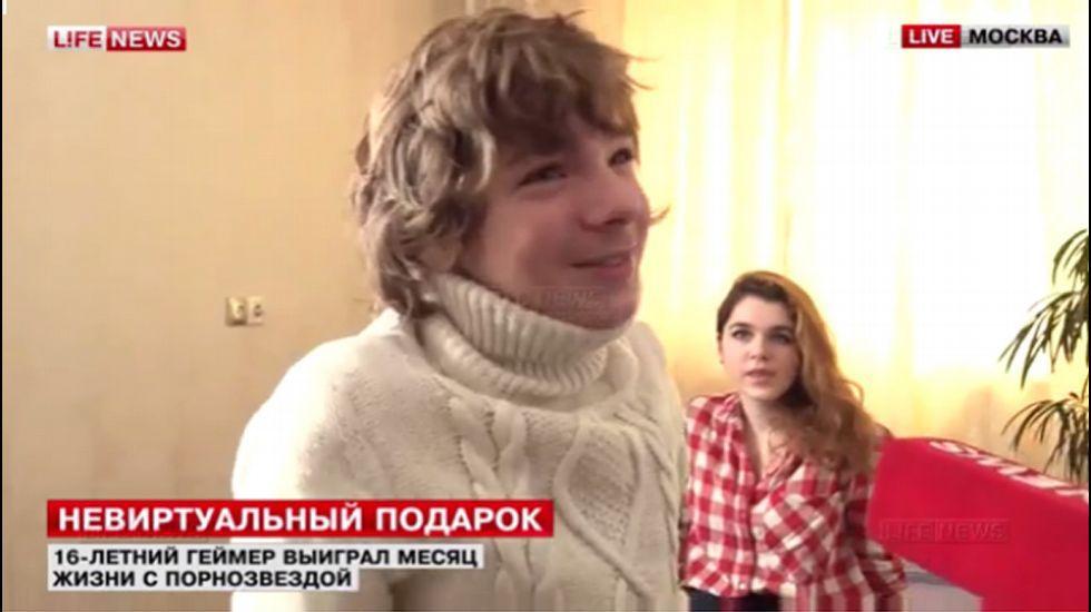 El joven ruso ganador del premio