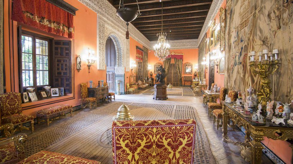 Interior del Salón de la Gitana, Casa de Las Dueñas
