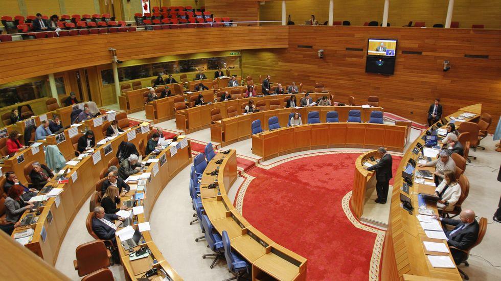 Votación de la proposición de ley para pedir la transferencia de la AP-9