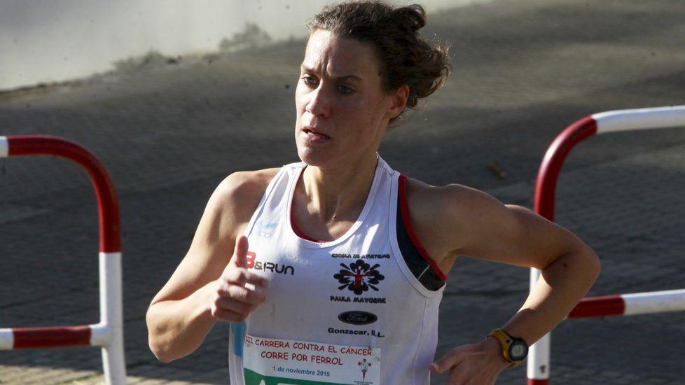 Paula Mayobre fue la segunda mejor española en Cardiff