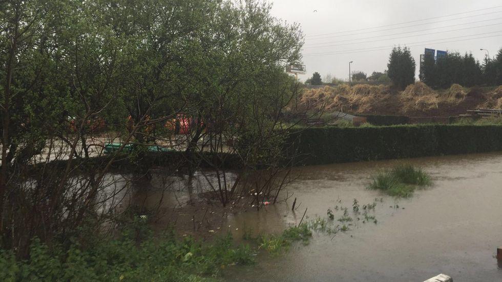 Inundaciones en Cambre