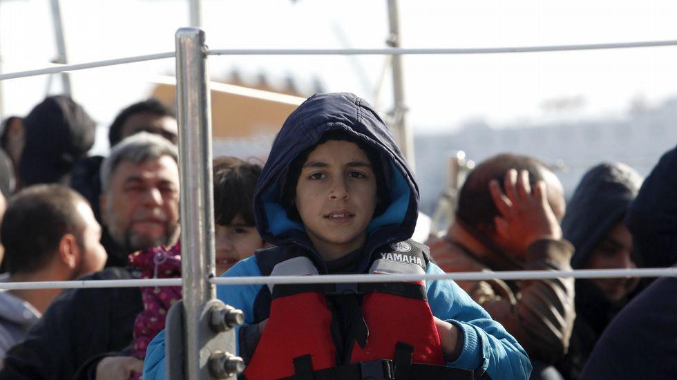 Primera jornada de deportaciones a Turquía