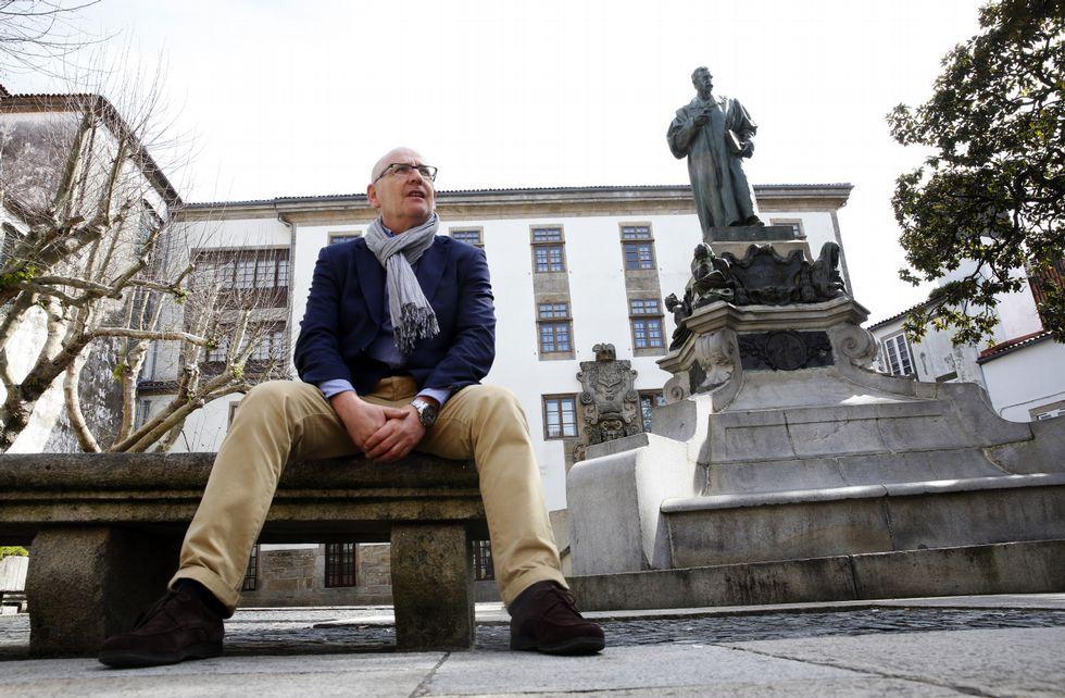 Juan Luis Blanco Valdés / Foto la Voz de Galicia