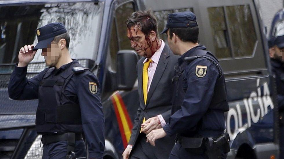 El atraco de Madrid, en imágenes
