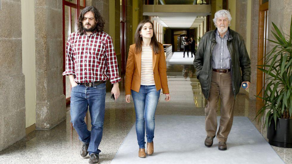 Registro por pornografía infantil en el Parlamento gallego