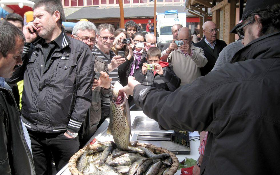 La Festa da Troita alcanzará el 1 de mayo su 38 edición.