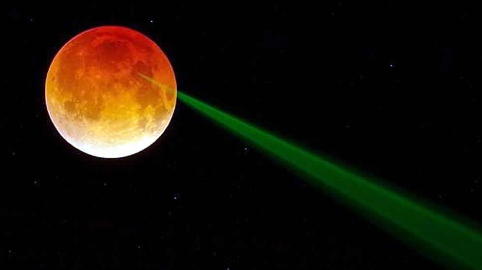 ¿A qué altura está la Luna?