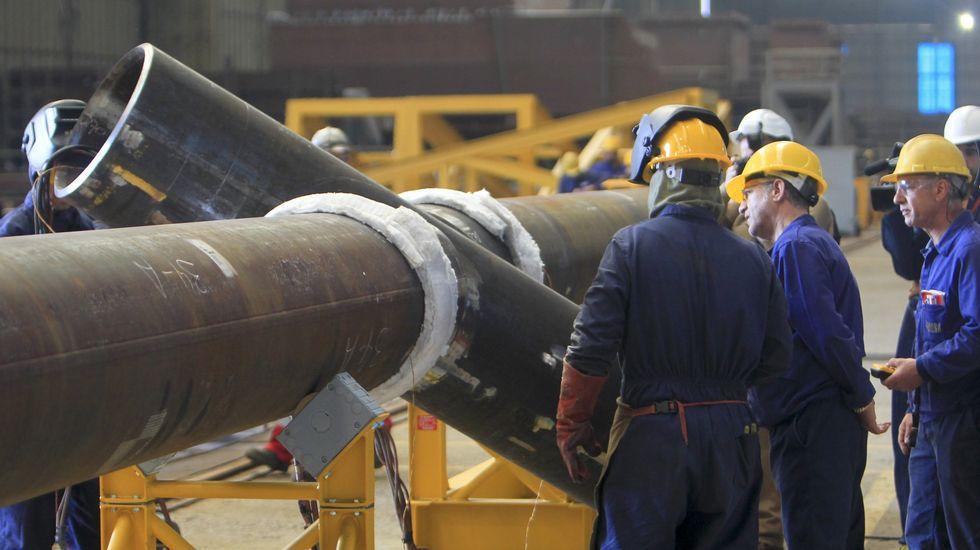 Navantia firma en días el contrato de los dos buques de Australia